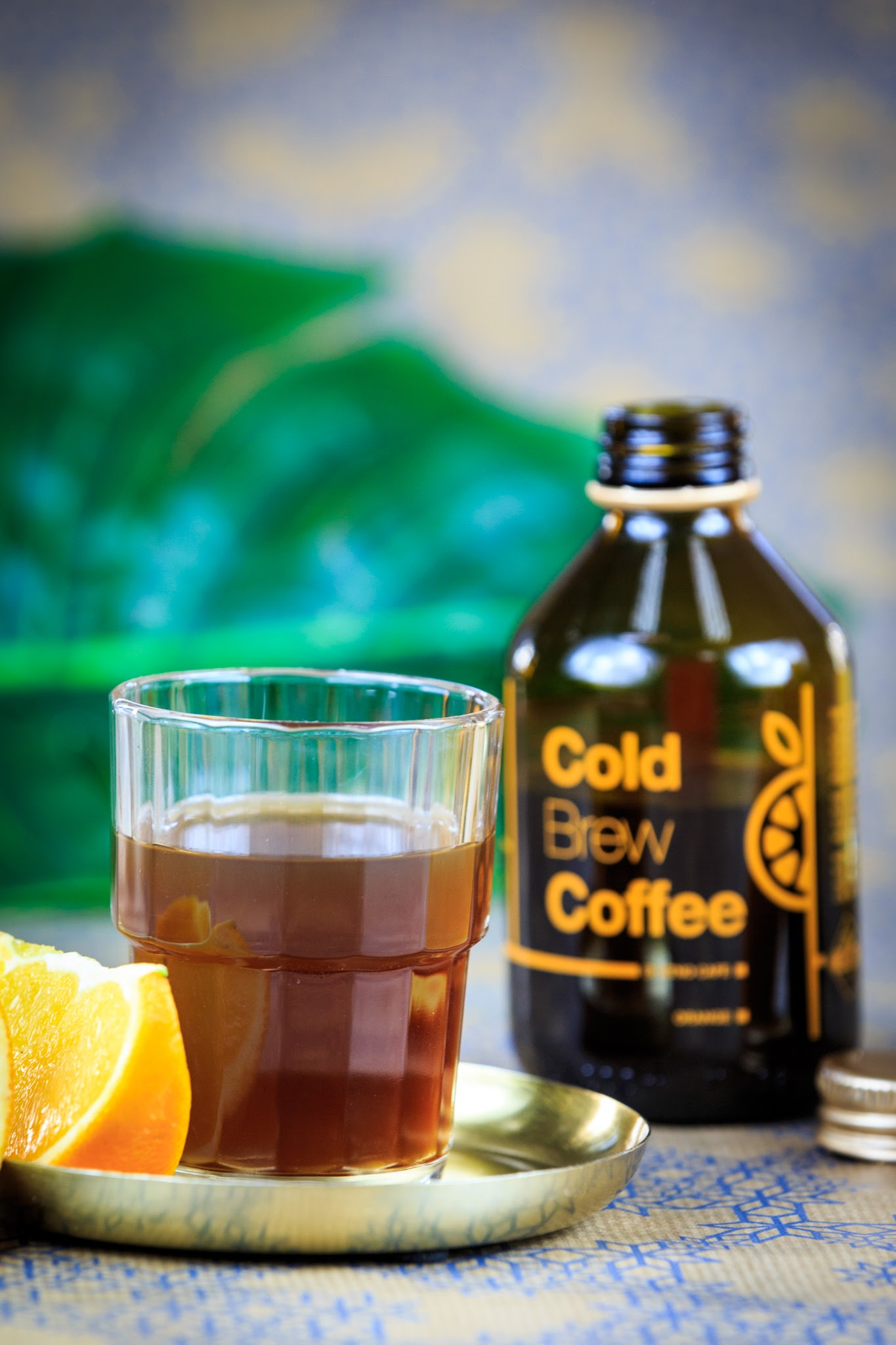 Cold Brew Coffee Orange