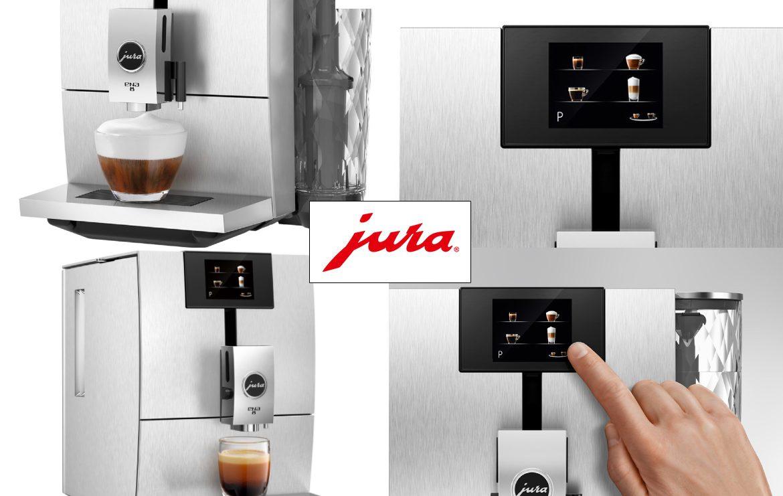 Ekspres Jura Ena 8 Touch Massive Aluminium