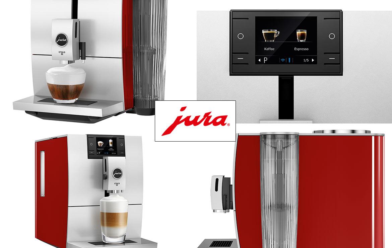 Ekspres do kawy Jura Ena 8 Red Sunset