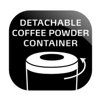 Wyjmowany pojemnik na kawę