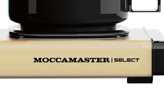 Automatyczna płyta grzewcza w ekspresie przelewowym Moccamaster KBG 741 Select