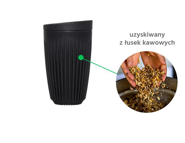 Kubek z łusek kawowych