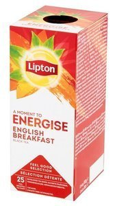 Czarna herbata Lipton Classic English Breakfast 25 kopert