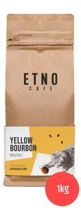 Kawa ziarnista Etno Cafe Brazylia yellow bourbon 1kg
