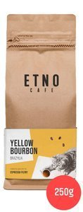 Kawa ziarnista Etno Cafe Brazylia yellow bourbon 250g