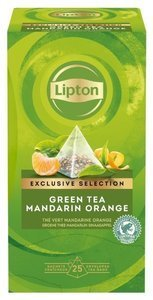 Zielona herbata Lipton Piramida Green Tea Mandarin Orange 30 kopert