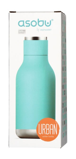 Asobu Urban Water Bottle - turkusowa butelka termiczna 460 ml