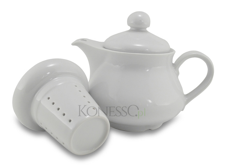 Modne ubrania Czajniczek do herbaty z wkładem zaparzającym 500ml - Konesso.pl TO48