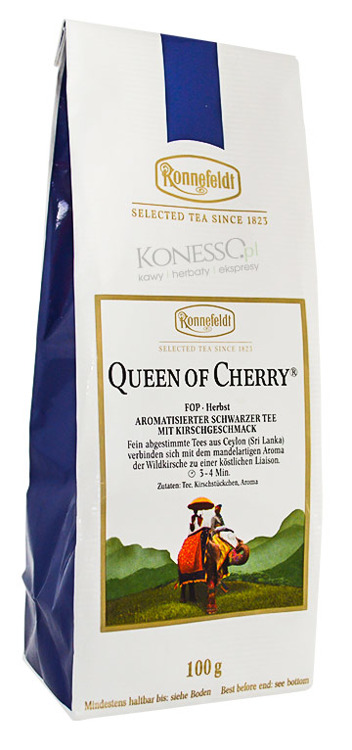 Czarna herbata Ronnefeldt Queen of Cherry® 100g