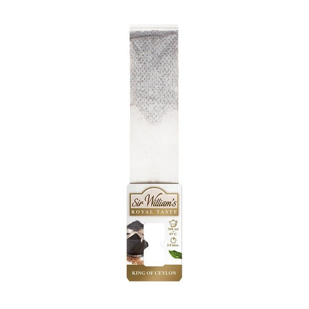 Czarna herbata Sir Williams Royal Taste King of Ceylon 12x3g