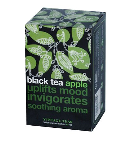 Czarna herbata Vintage Teas Black Tea Apple - 30x1,5g