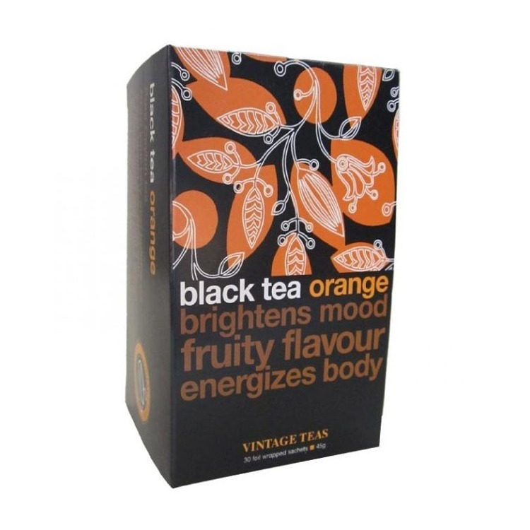 Czarna herbata Vintage Teas Black Tea Orange - 30x1,5g