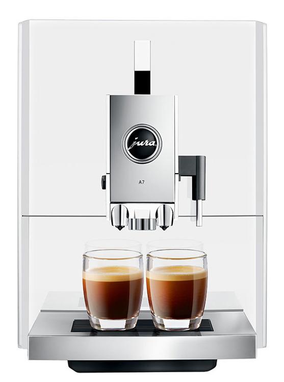 jura a7 piano white automatyczny ekspres do kawy jura a7. Black Bedroom Furniture Sets. Home Design Ideas