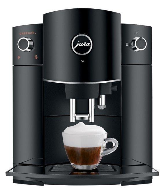 Ciśnieniowy Ekspres do kawy Jura D6 Piano black