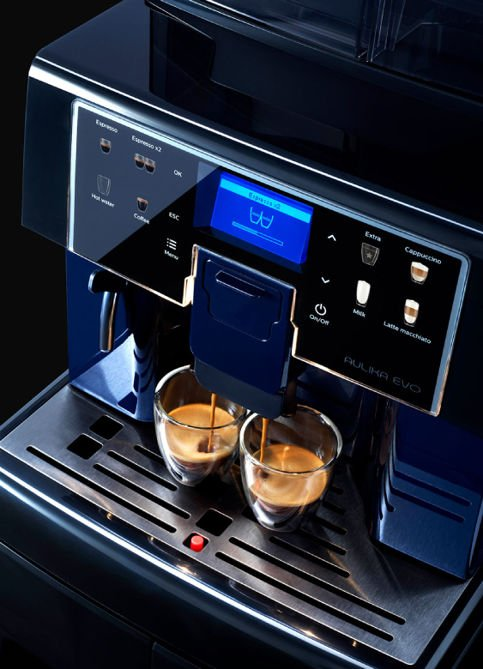 Ekspres do kawy Saeco Aulika EVO TOP RI High Speed Cappuccino