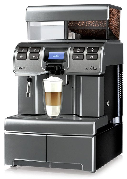 Ekspres do kawy Saeco Aulika Top High Speed Cappuccino V2 Antracite