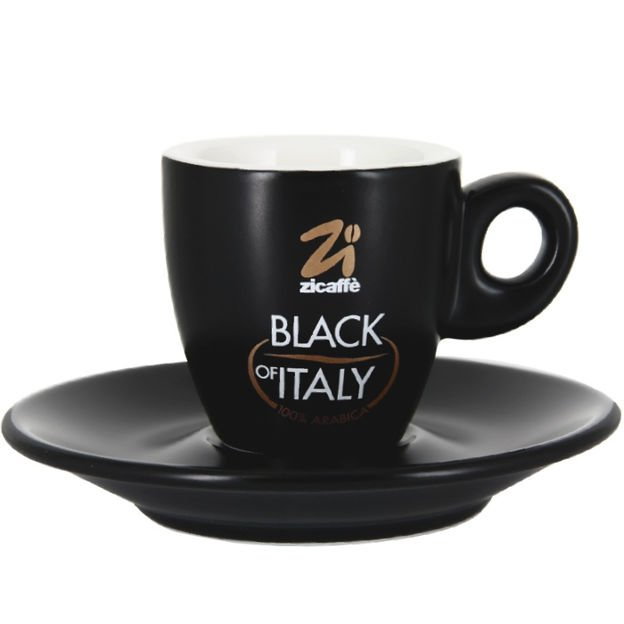 Filiżanka do espresso Zicaffe Black of Italy 70 ml