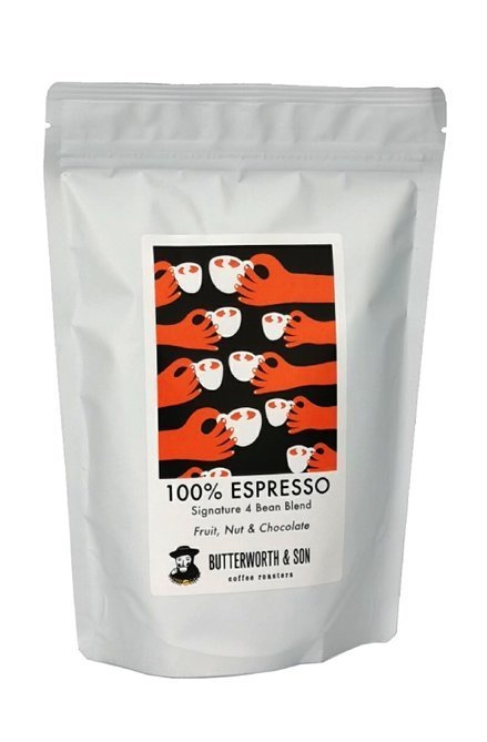 Kawa ziarnista Butterworth & Son 100% Espresso Blend 250g