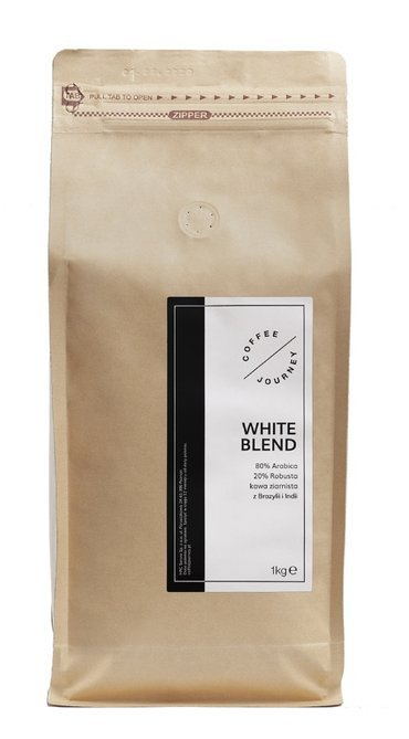 Kawa ziarnista Coffee Journey White Blend 1kg