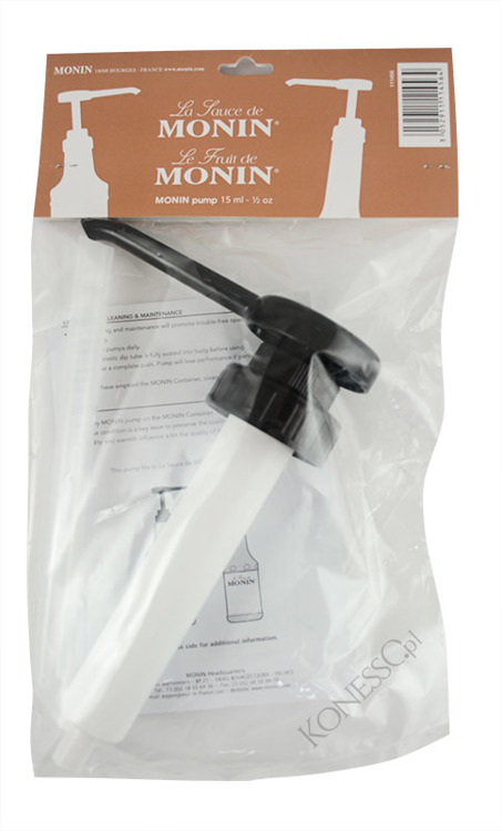 Pompka do sosów i puree Monin 15 ml