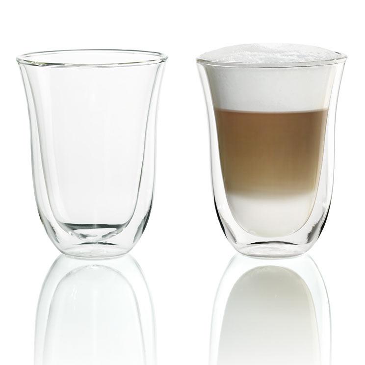 Szklanki Termiczne Delonghi Do Kawy Latte Macchito 220 Ml 2szt