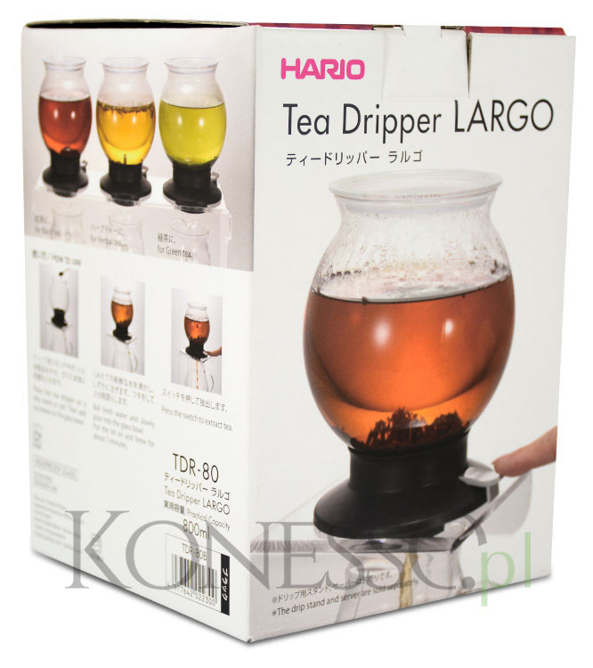 Zaparzacz do herbaty Hario - Largo tea dripper 800ml