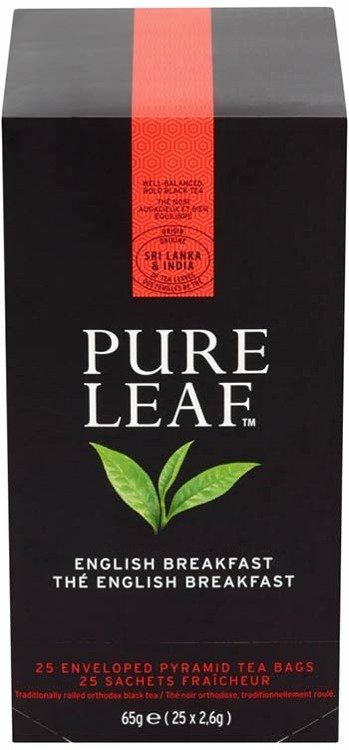 Zestaw 4x Czarna herbata Pure Leaf English Breakfast 25 kopert