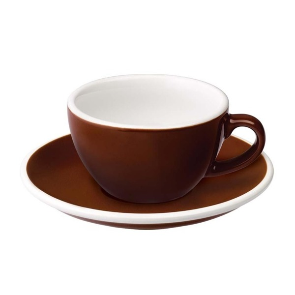 Filiżanka do flat white Loveramics Egg 150ml - brown
