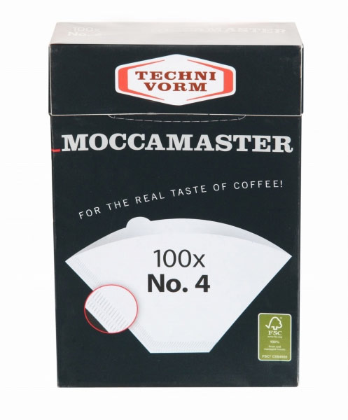 Filtry papierowe Moccamaster nr 4