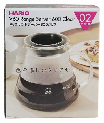 Hario V60-02 Range Server Clear 600ml