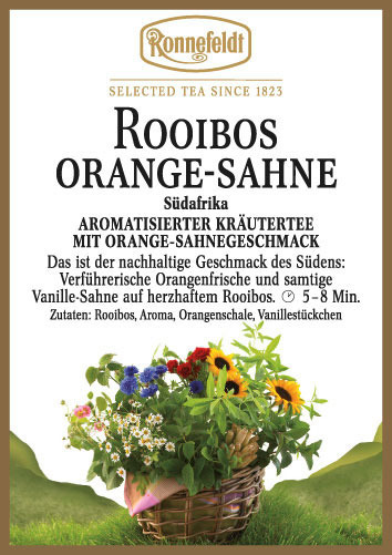 Herbata Ronnefeldt Rooibos Orange-Sahne/Cream Orange 100g
