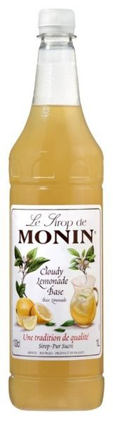 Syrop Cloudy Lemonade Base MONIN 1L