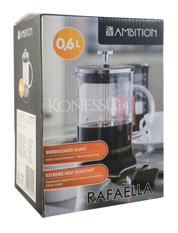Zaparzacz do kawy RAFAELLA 600ml - French Press