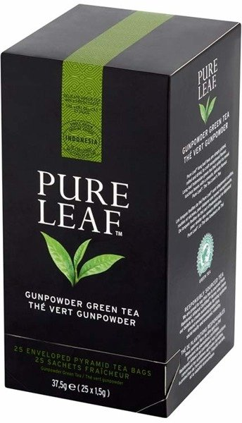 Zielona herbata Pure Leaf Green Gunpowder 25 kopert